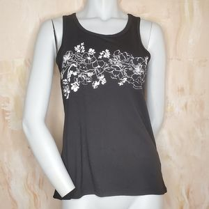 Ideology Running Floral Tank Top Size XS